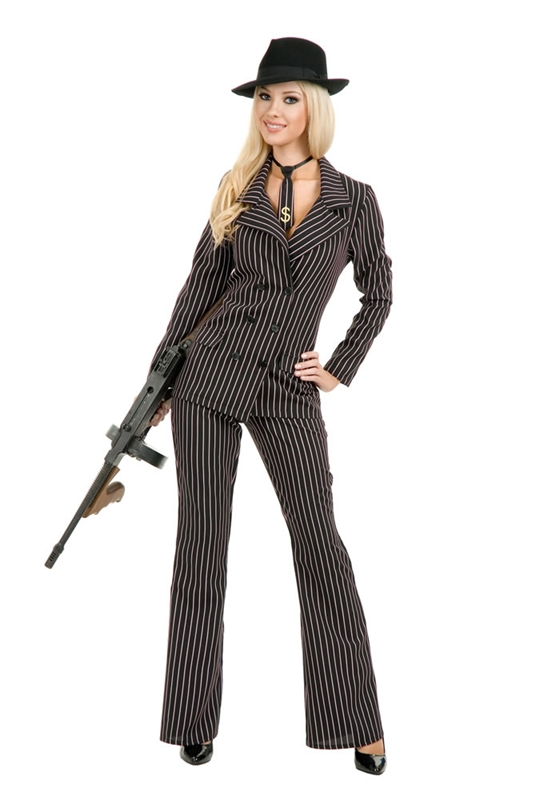 Gangster Moll Adult Womens Costume