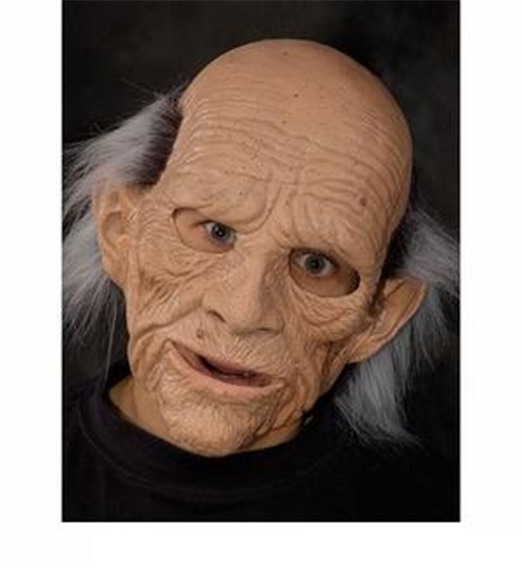 Geezer Old Man Mask