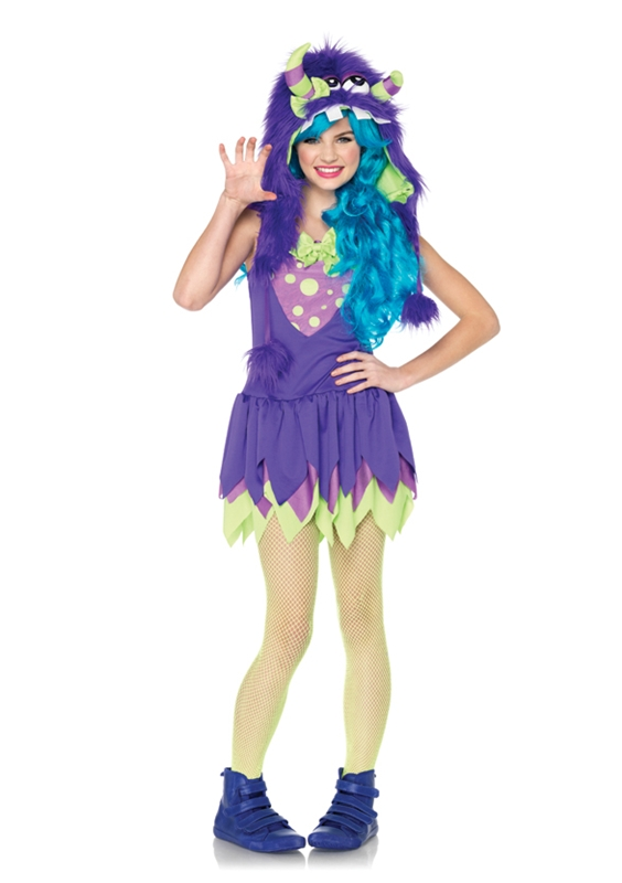 Gerty Growler Monster Child Girl Costume