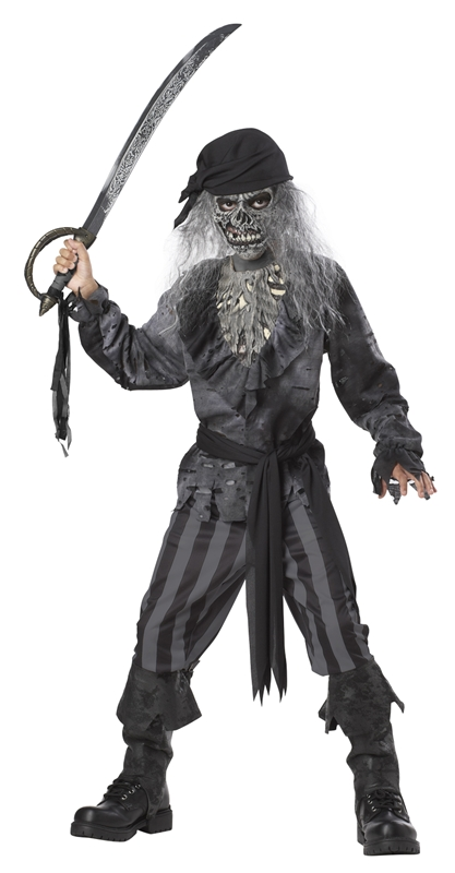 Ghost Ship Pirate Child Costume