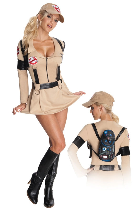 Ghostbusters Adult Womens Sexy Dress Costume