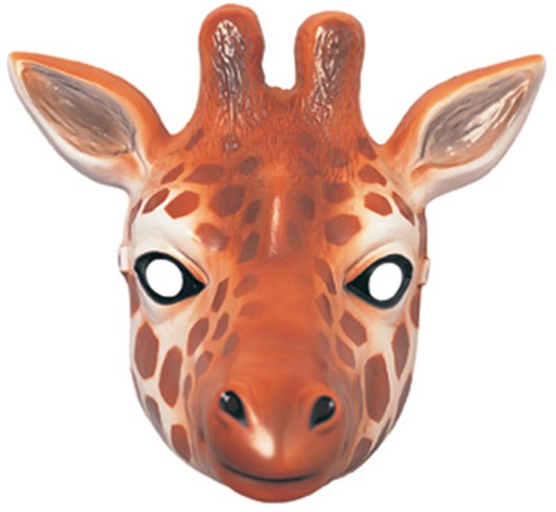 Giraffe Plastic Mask