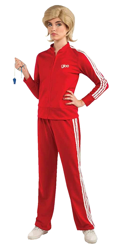 Glee Sue Track Suit Adult Costume