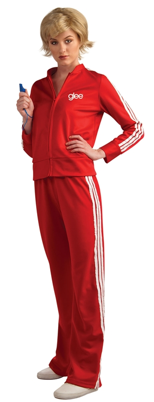 Glee Sue Track Suit Teen Costume by Rubies