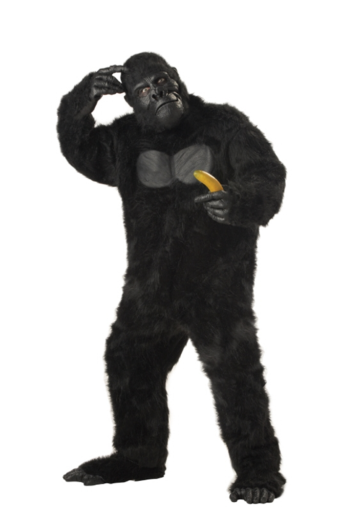 Gorilla Furry Adult Costume by California Costumes