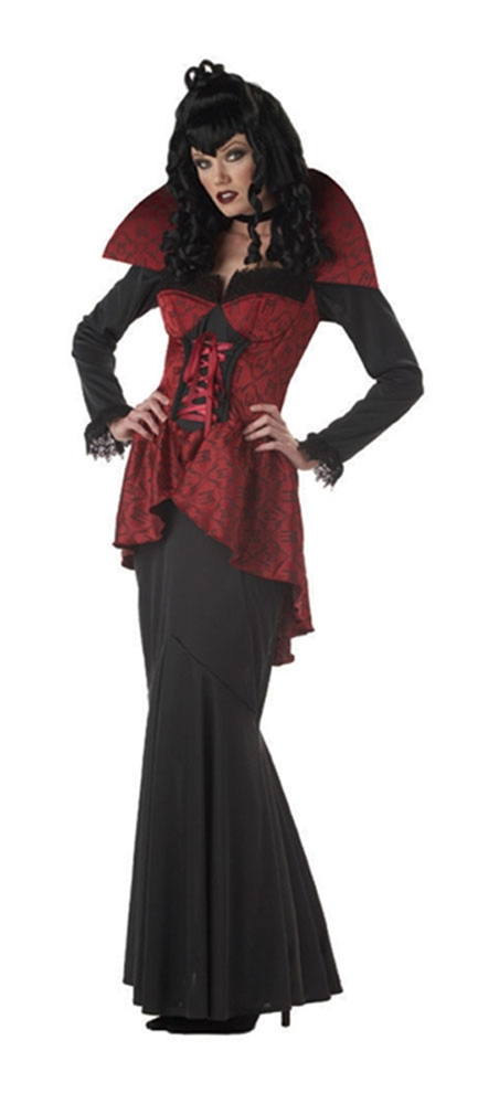 Gothic Elegant Vampire Countess Adult Womens Costume