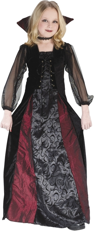 Gothic Maiden Vamp Child Costume