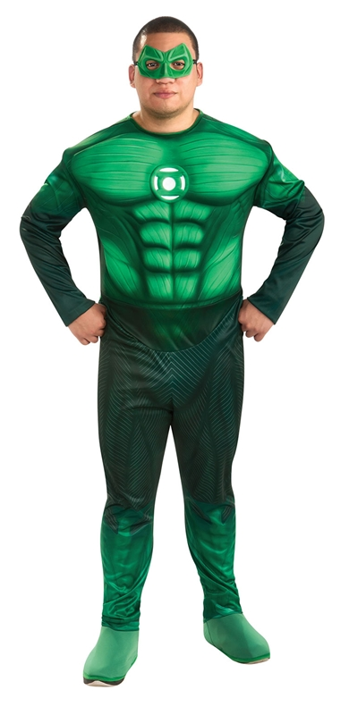 Green Lantern Muscle Deluxe Plus Size Costume