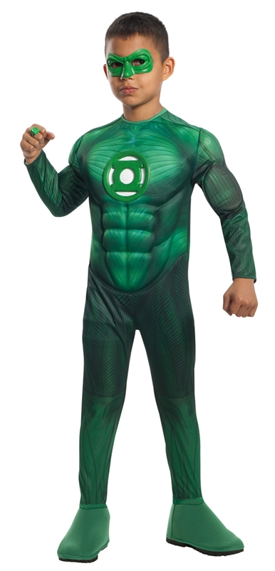 Green Lantern Muscle Deluxe Toddler & Child Costume