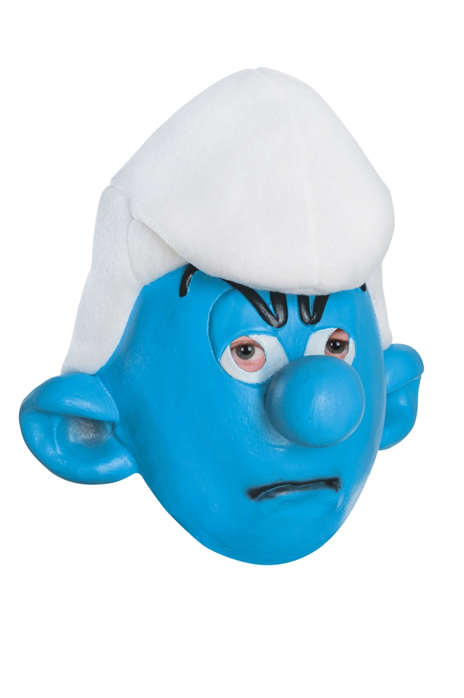 Grouchy Smurf Child Mask
