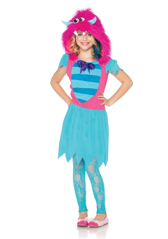 Growling Gabby Monster Child Girl Costume