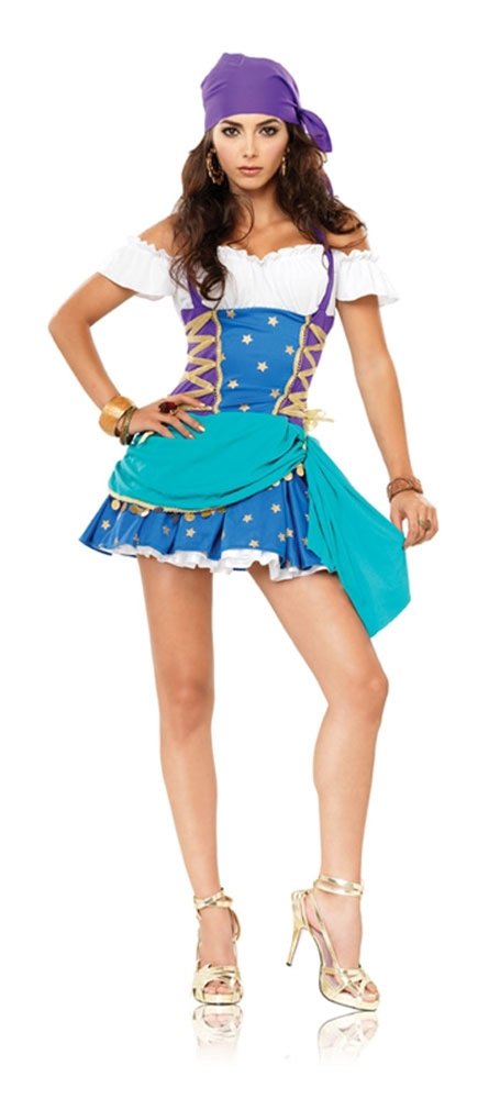 Gypsy Princess Adult Womens Costume by Leg Avenue