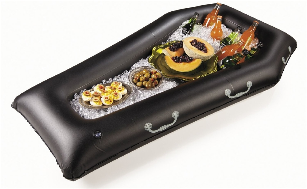 Image of Halloween Inflatable Coffin Buffet
