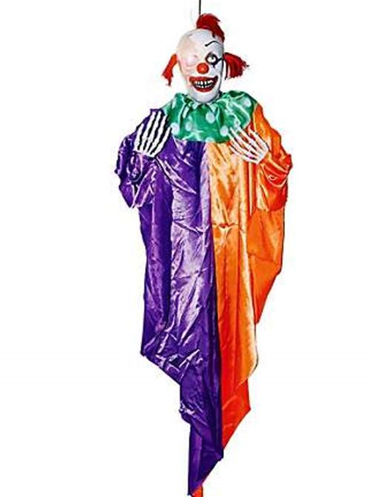 Hanging Light Up Clown Prop
