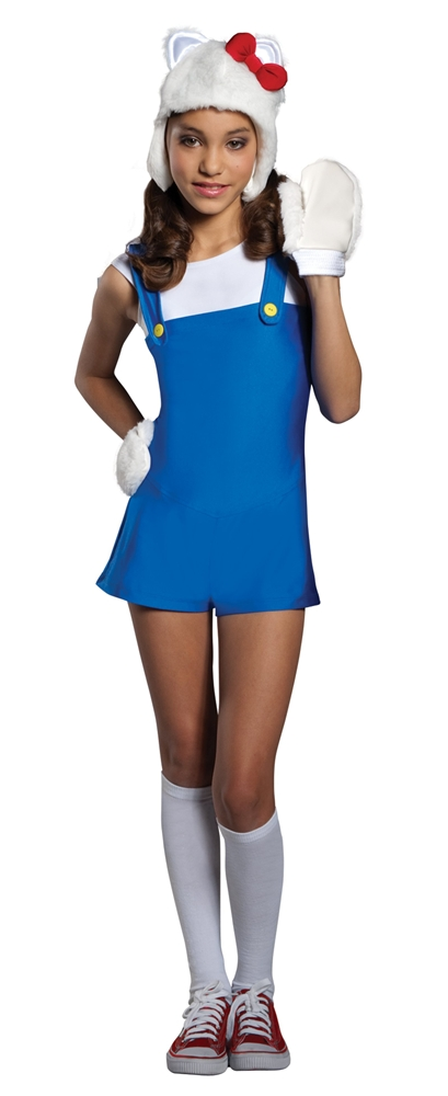Hello Kitty Blue Romper Teen Costume
