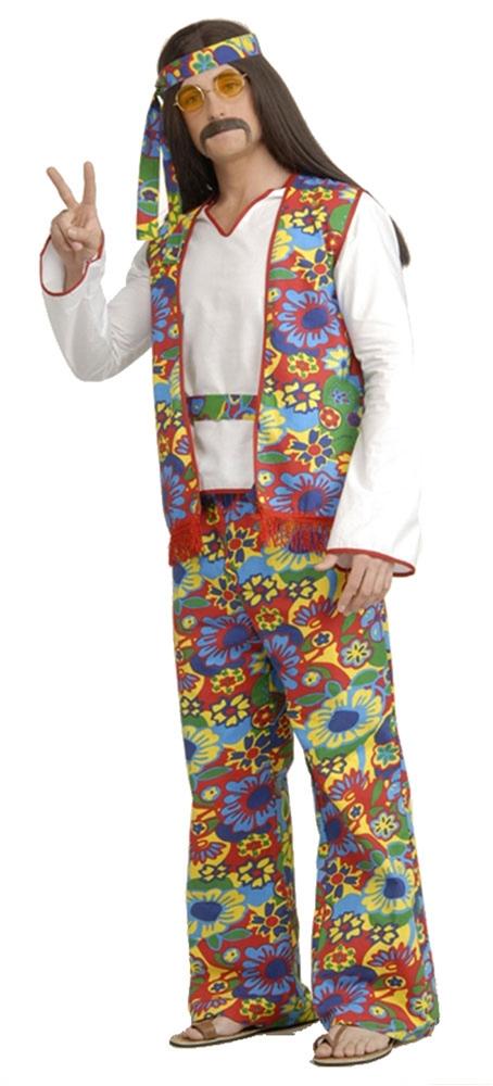 [Hippie Dippie Adult Mens Costume] (Hippie Dippie Adult Mens Costumes)