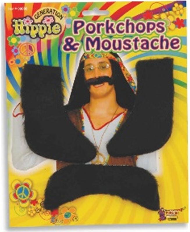 Hippie Porkchops & Moustache