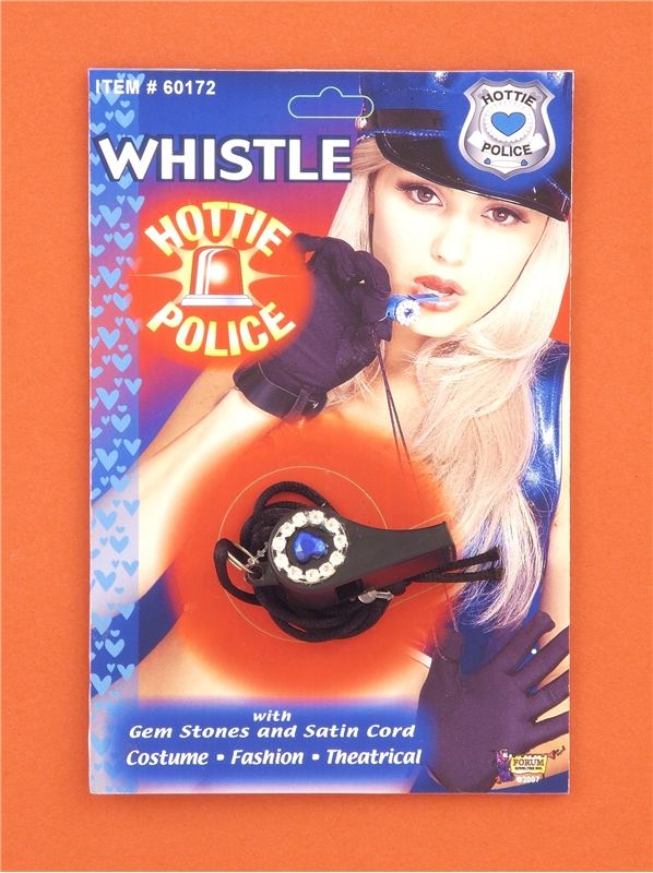 Hottie Police Whistle With Cord