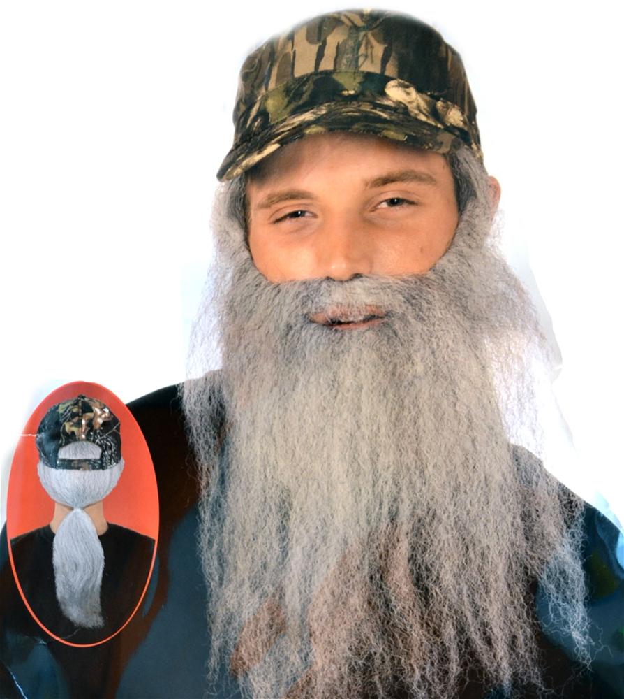 Hunting Man Camo Cap and Beard Set
