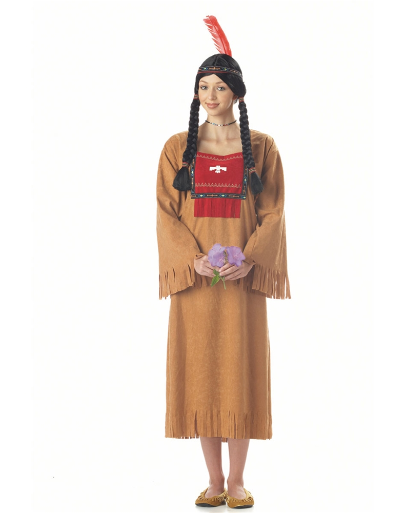 Indian Running Brook Adult Costume