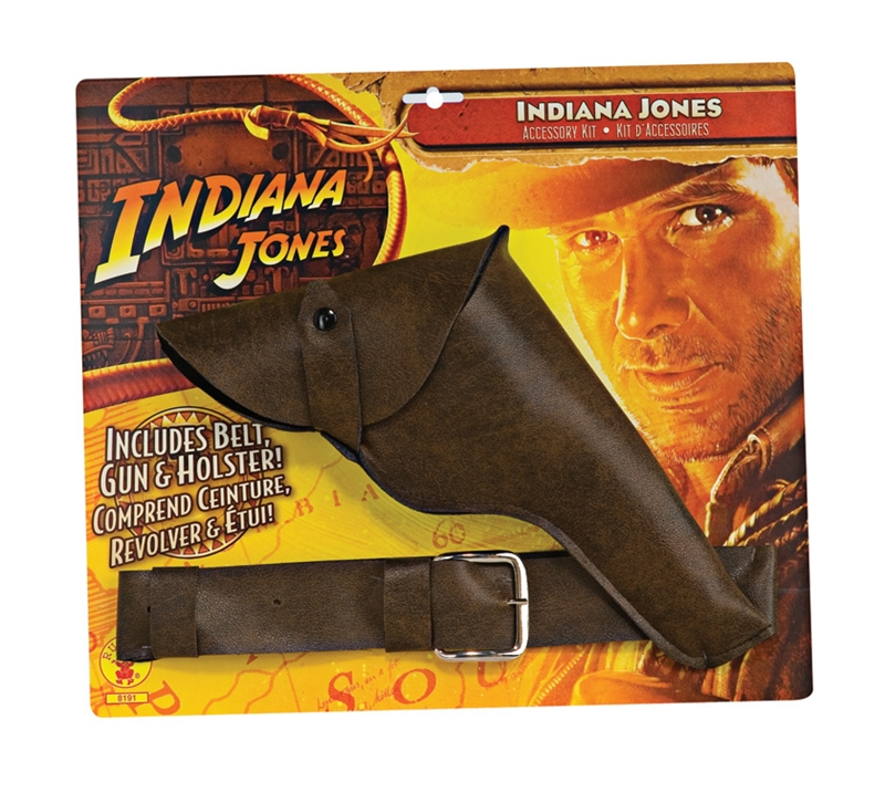 Indiana Jones Belt With Gun Holsters