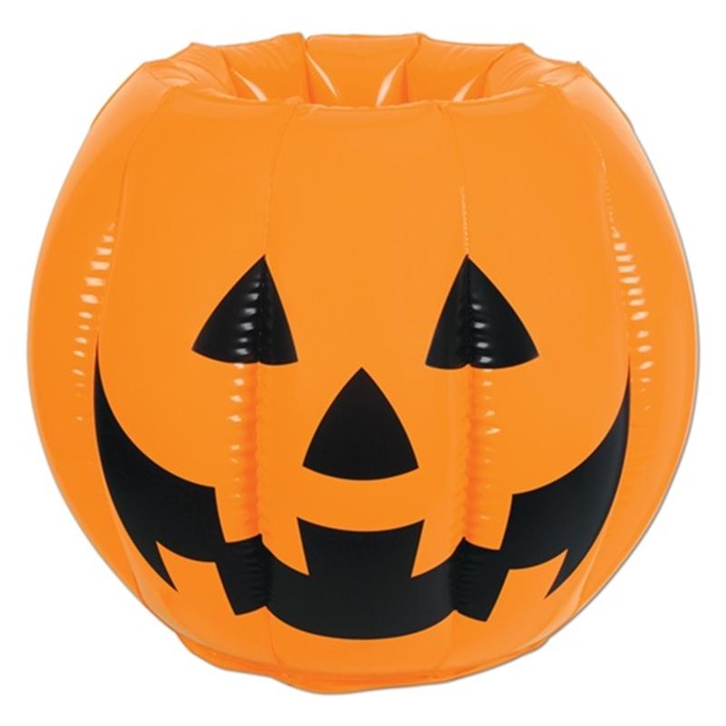 Inflatable Jack O Lantern J-O-L Cooler