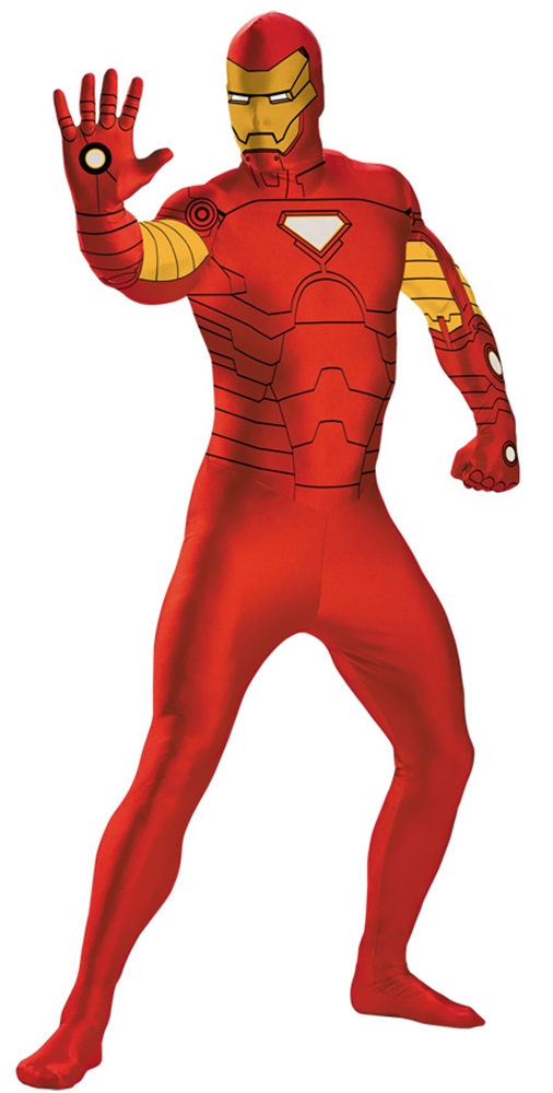 Marvel Iron Man Adult Mens Bodysuit