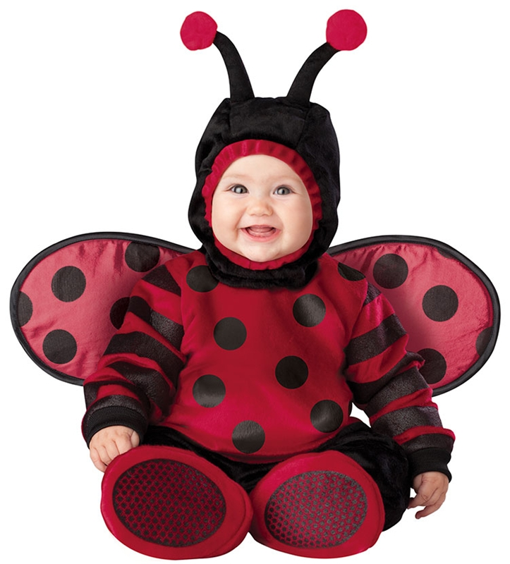 Itty Bitty Lady Bug Child Costume