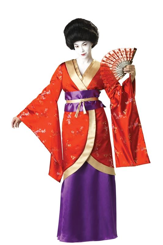 Костюм японки своими руками фото