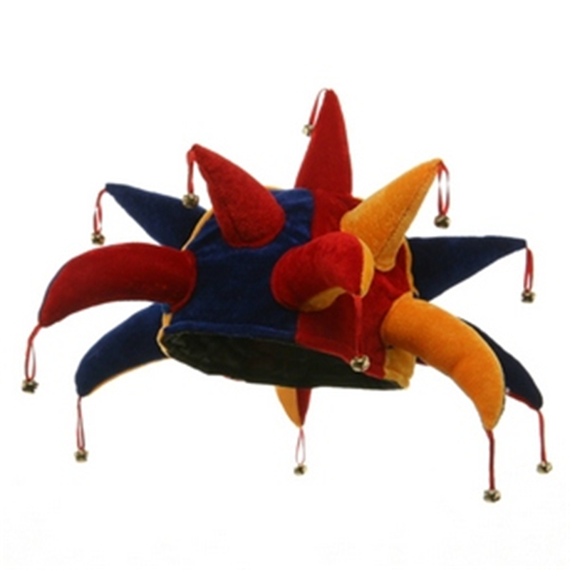 Jester with Point Bells Adult Hat