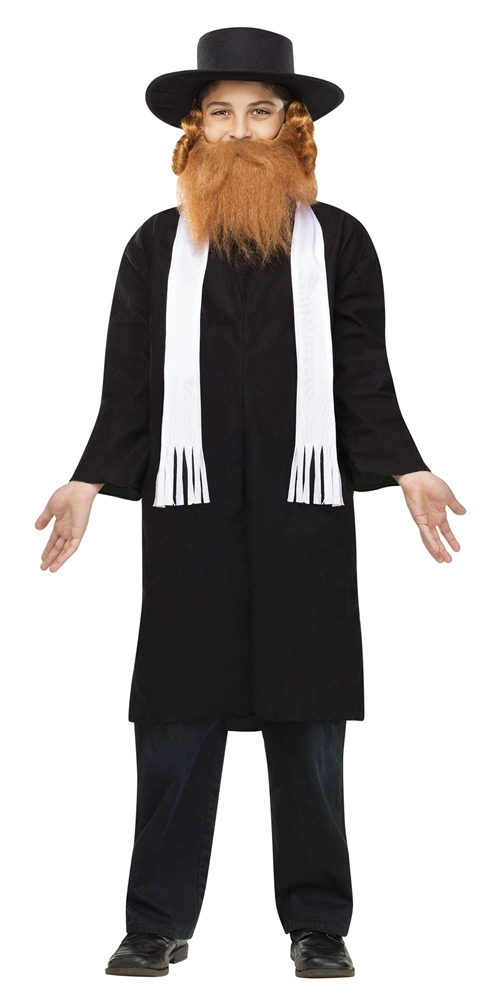 Jewish Rabbi Child Costume