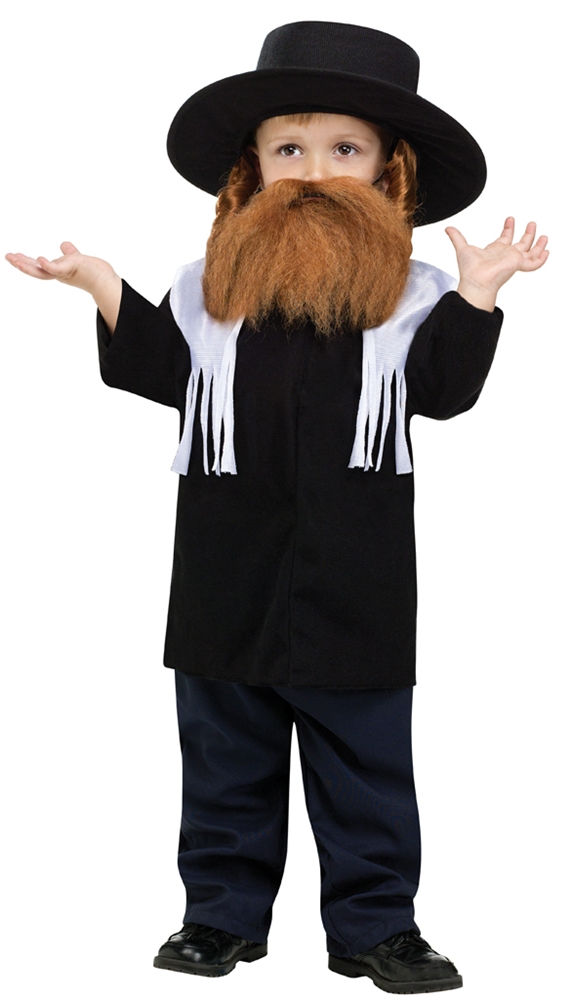 Jewish Rabbi Toddler Costume