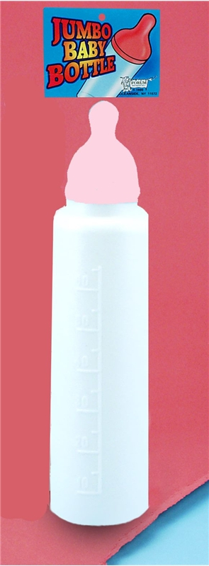 Jumbo Baby Bottle Pink by Forum Novelties