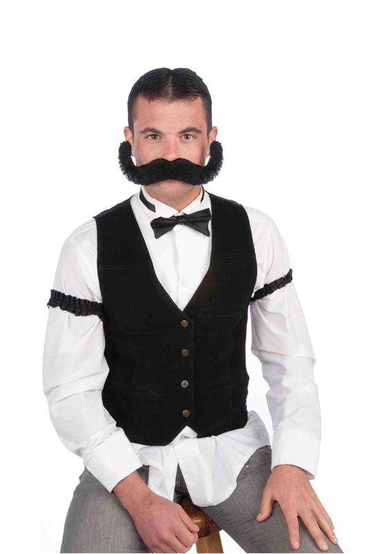 Jumbo Moustache Black