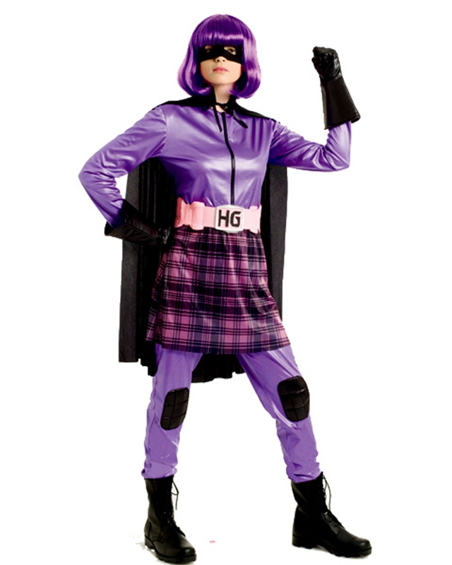 Kick-Ass Movie HIT GIRL Adult Womens Costume COSPLAY LICENSED KickAss