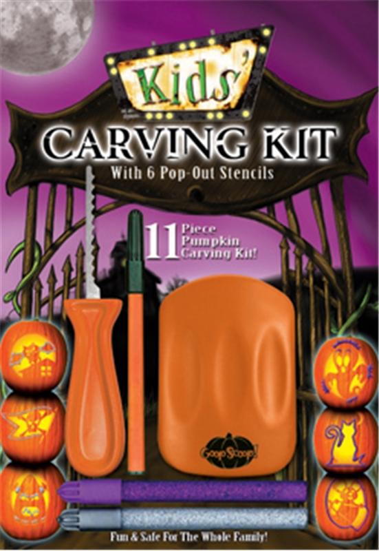 Kids Pumpkin Carving Kit
