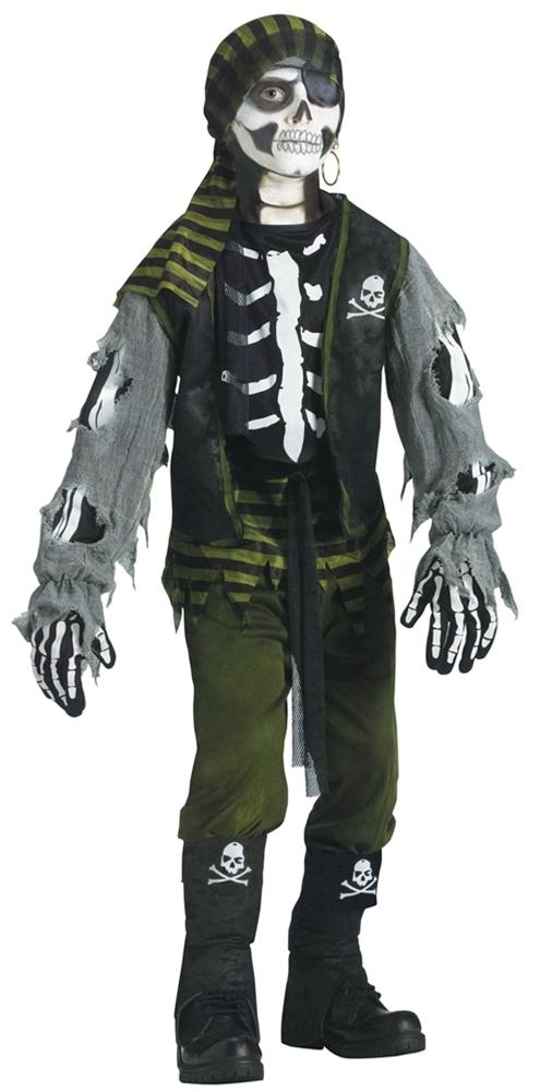 Купить Skeleton Pirate Child Costume