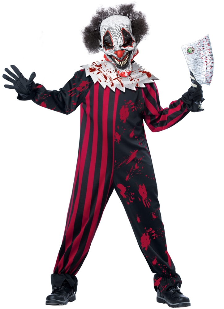 Killer Klown Child Costume