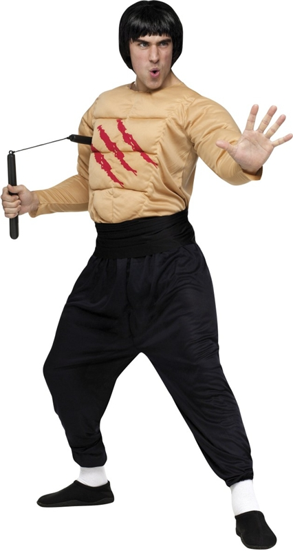 Kung Fu Master Adult Men Costume