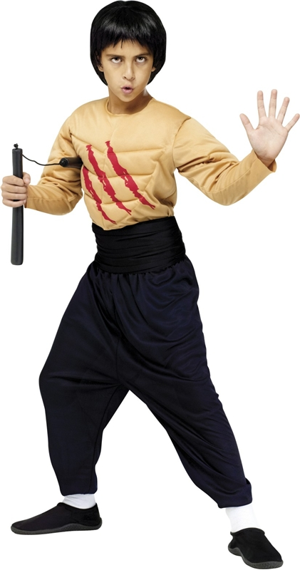 Kung Fu Master Child Costume