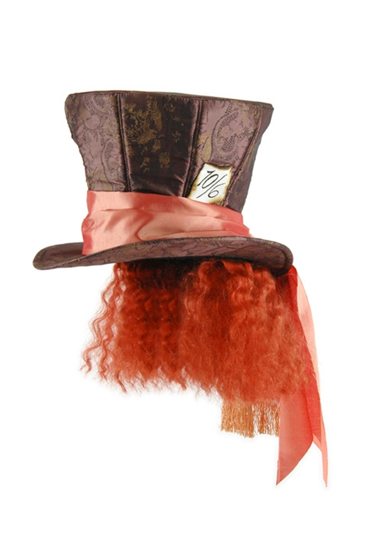 Image of Mad Hatter Hat with Hair