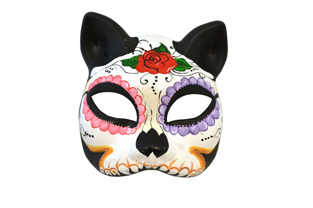 La Mina Rosa Day of The Dead Mask