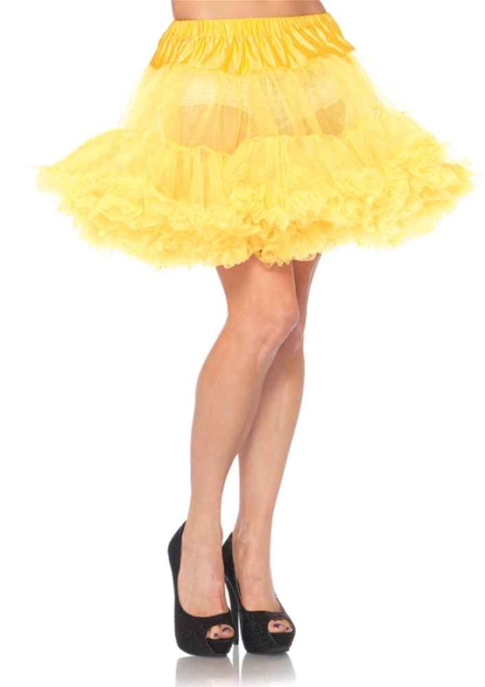 Layered Tulle Petticoat (Assorted Colors)