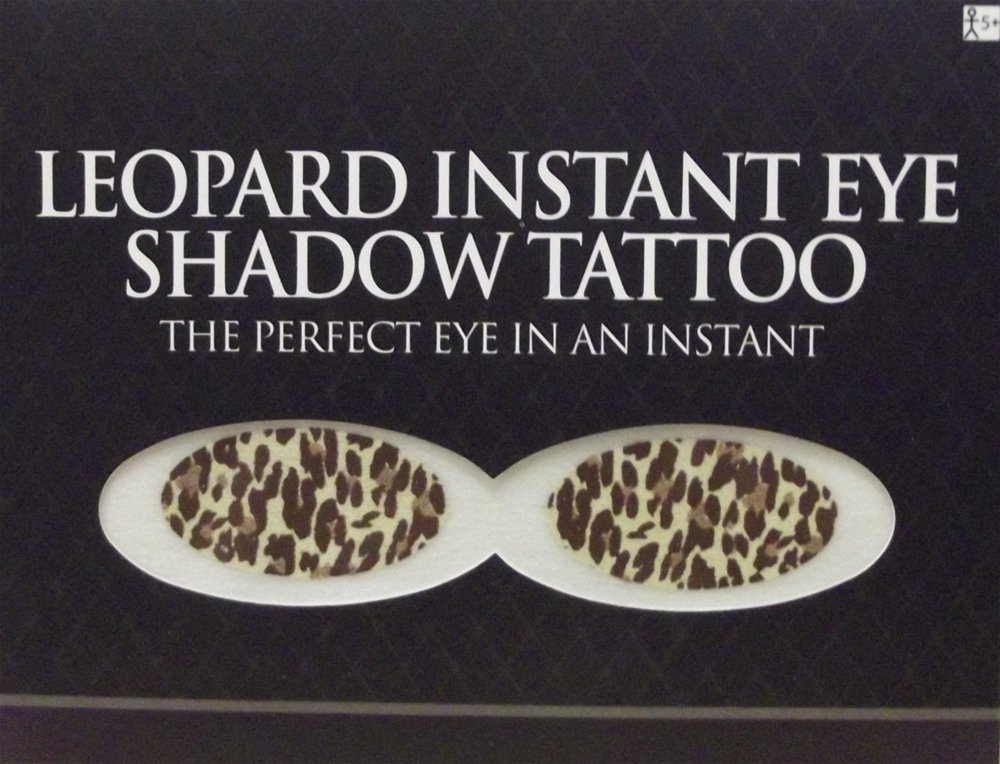 Leopard Instant Eye Shadow Tattoo