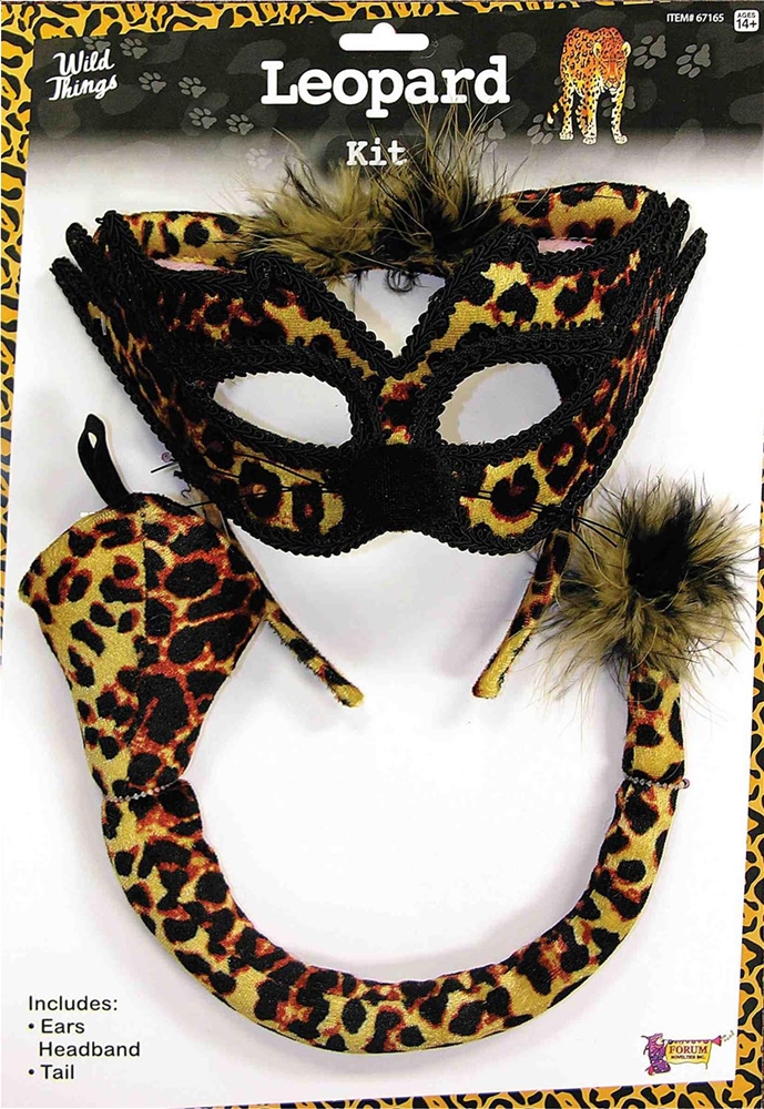 Image of Leopard Cat Costume Kit