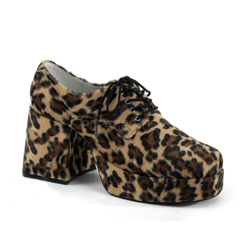 Leopard Disco Platform Adult Shoes
