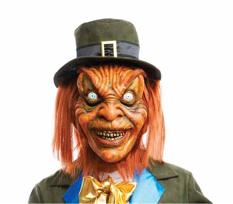 Leprechaun Adult Mask - 215001 - Halloween Mask | trendyhalloween.com