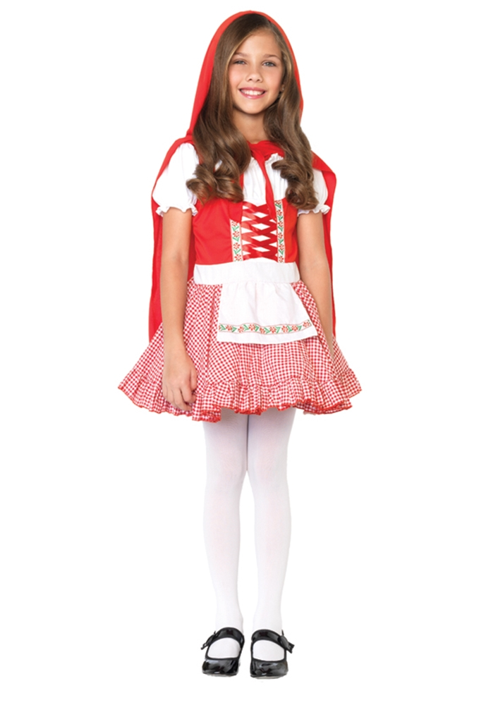 Lil Miss Red Riding Hood Child Costume