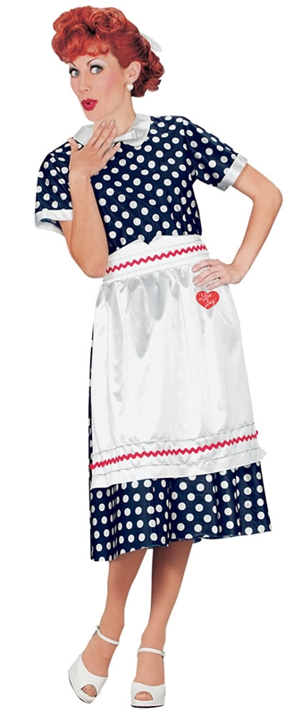 Lucy Polka Dot Adult Costume