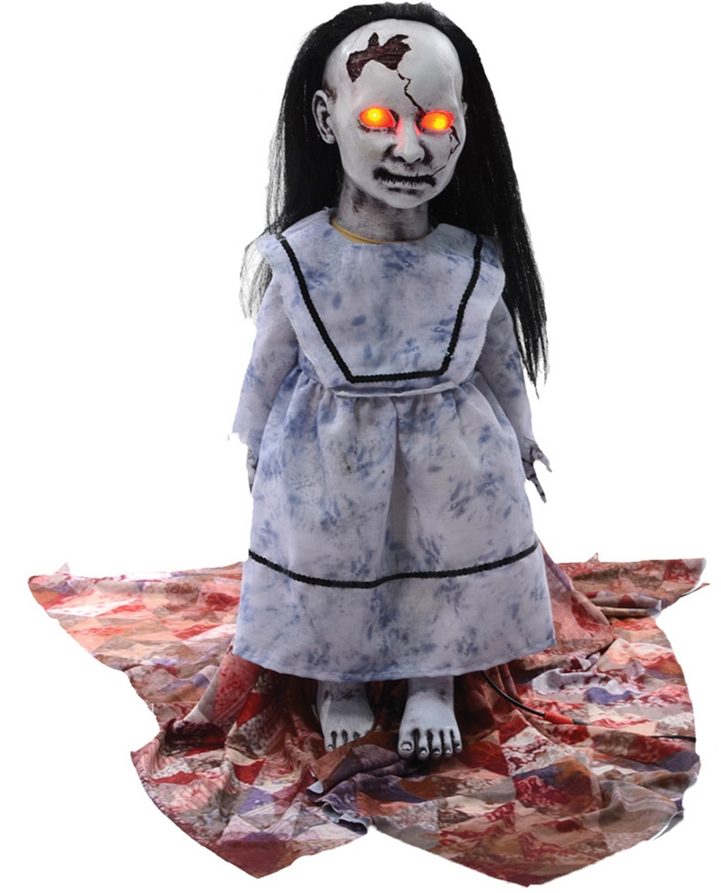 Graveyard Dolly Lunging Animated Prop